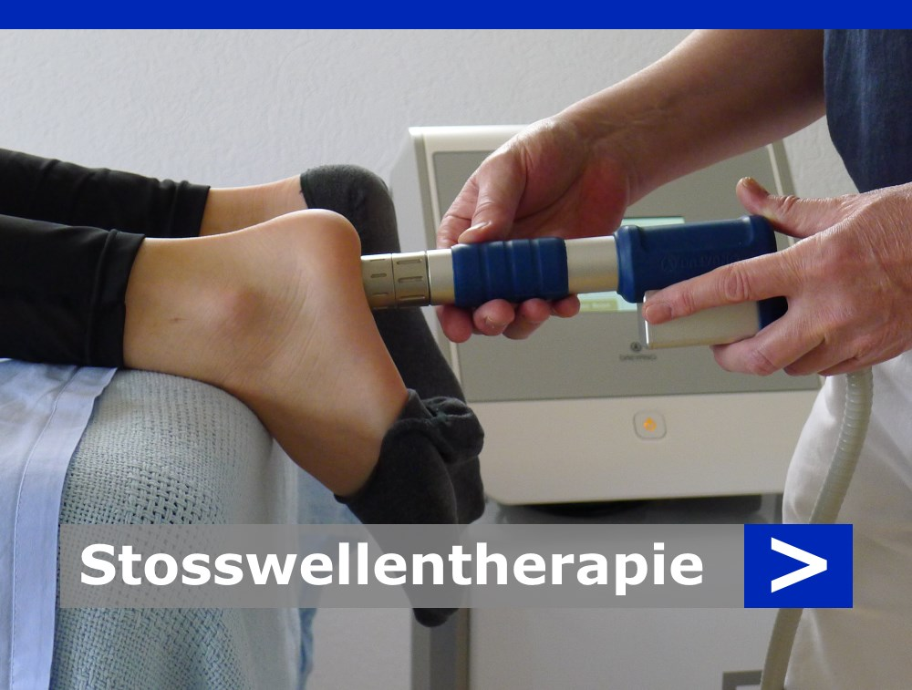 Stosswellentherapie von Michael Goes Physiotherapie, Däniken im Kanton Solothurn (SO)