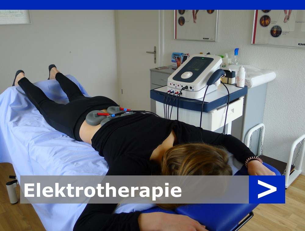 Elektrotherapie von Physiotherapie Michael Goes, Däniken im Kanton Solothurn (SO)